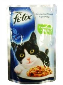 Felix Аппетитные кусочки в желе с Кроликом