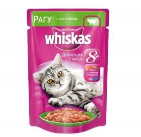 Whiskas для кошек старше 8 лет 85 г