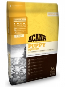 Скидка 5% Acana Puppy & Junior для щенков всех пород. Heritage